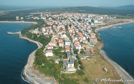 View of Primorsko From The Sky